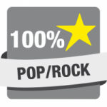 Logo da emissora Hit Rádio 100% Pop Rock