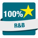 Logo da emissora Hit Rádio 100% R&B