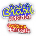 Logo da emissora Rádio Brasil Mania