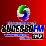 Logo da emissora Rádio Sucesso 104.9 FM
