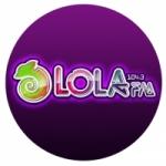 Logo da emissora Radio Lola 104.3 FM