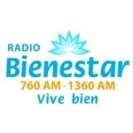 Logo da emissora Radio Bienestar 760 e 1360 AM