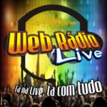 Logo da emissora Web Radio Live