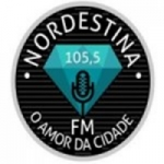 Logo da emissora Rádio Nordestina FM