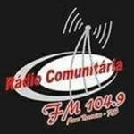 Logo da emissora Rádio Comunitária de Novo Barreiro 104.9 FM