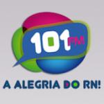 Logo da emissora Rádio 101.1 FM