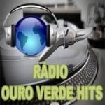 Logo da emissora Rádio Ouro Verde Hits