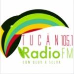 Logo da emissora Radio Tucán 105.1 FM