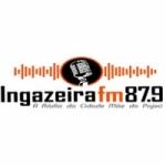Logo da emissora Rádio Ingazeira 87.9 FM