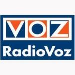 Logo da emissora Radio Voz 105.4 FM
