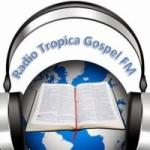 Logo da emissora Rádio Tropical Gospel FM