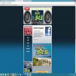 Logo da emissora Movin 94.5 FM