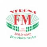 Logo da emissora FM Verona