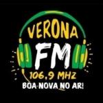 Logo da emissora Rádio Verona 106.9 FM