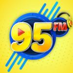 Logo da emissora Rádio 95 FM Alagoinhas