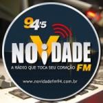 Logo da emissora Novidade 94