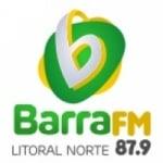 Logo da emissora Rádio Barra FM Litoral Norte 87.9