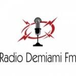 Logo da emissora Radio Demiami FM