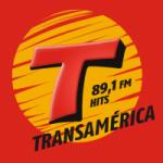 Logo da emissora Rádio Transamérica Hits 89.1 FM