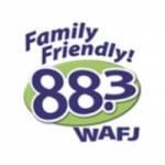 Logo da emissora WAFJ 88.3 FM
