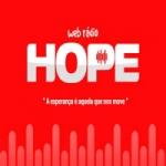 Logo da emissora Rádio Hope