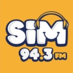 Logo da emissora Rádio Sim 94.3 FM
