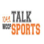 Logo da emissora WCCP 104.9 FM