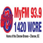 Logo da emissora WCRE 1420 AM