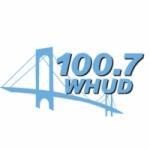 Logo da emissora WHUD 100.7 FM