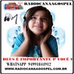 Logo da emissora Rádio Canaã Gospel