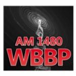 Logo da emissora WBBP 1480 AM