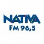 Logo da emissora Rádio Nativa 96.5 FM