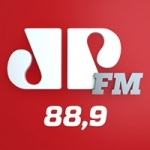 Logo da emissora Rádio Jovem Pan 88.9 FM