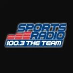 Logo da emissora WIQB 1050 AM