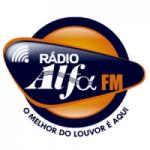Logo da emissora Rádio Alfa FM