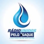 Logo da emissora Rádio Unidos Pelo Isaque