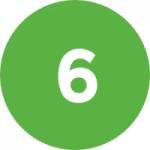 Logo da emissora Radio 6 Digital FM