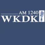 Logo da emissora WKDK 1240 AM