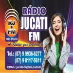 Logo da emissora Rádio Jucati 104.9 FM