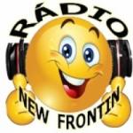 Logo da emissora Rádio New Frontin