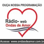 Logo da emissora Rádio Web Ondas de Amor