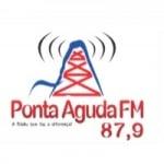 Logo da emissora Rádio Ponta Aguda 87.9 FM