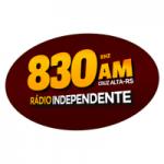 Logo da emissora Rádio Nova Independente 830 AM