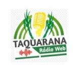 Logo da emissora Taquarana Rádio Web