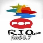 Logo da emissora Rádio Pop Rio 98.7