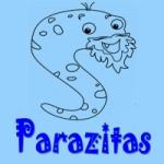 Logo da emissora Parazitas