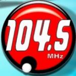 Logo da emissora FM San Pedro 104.5 FM