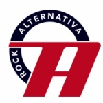 Logo da emissora Rádio Alternativa Rock