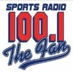 Logo da emissora WWFN 100.1 FM