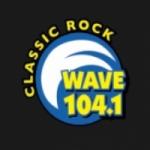 Logo da emissora WYAV 104.1 FM